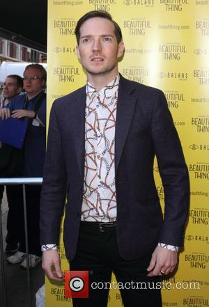 Dan Gillespie Sells - 'Beautiful Thing' Press Night at The Arts Theatre - Arrivals - London, United Kingdom - Wednesday...
