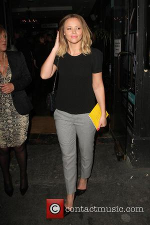 Kimberley Walsh - 'Beautiful Thing' Press Night at The Arts Theatre - Arrivals - London, United Kingdom - Wednesday 17th...