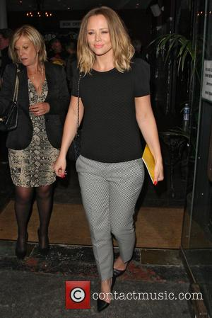 Kimberley Walsh - 'Beautiful Thing' Press Night at The Arts Theatre - Departures - London, United Kingdom - Wednesday 17th...