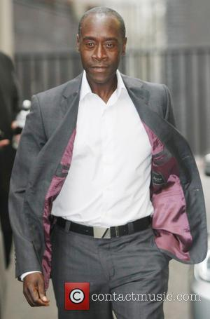 Don Cheadle - Celebrities outside the ITV Studios - London, United Kingdom - Wednesday 17th April 2013