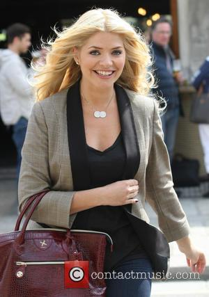 Holly Willoughby - Celebrities outside the ITV Studios - London, United Kingdom - Wednesday 17th April 2013