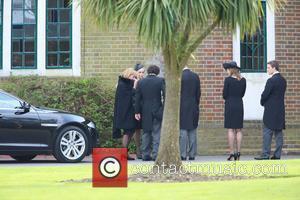 Carol Thatcher, Marco Grass, Sarah Jane Russell, Mark Thatcher, Michael Thatcher and Amanda Thatcher