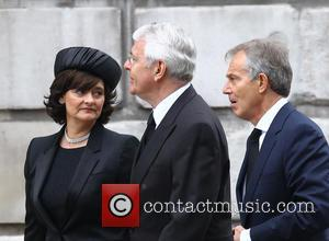 John Major, Tony Blair and Cherie Blair