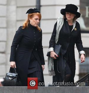 Sarah Ferguson, Duchess of York and guests - Born Margaret Hilda Roberts on 13th October, 1925, in Grantham, England, Thatcher...