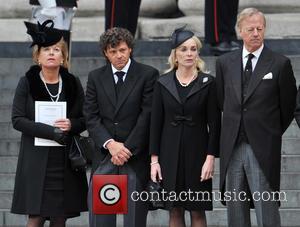 Carol Thatcher, Marco Grass, Sarah Thatcher and Mark Thatcher