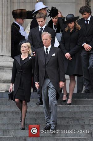 Carol Thatcher, Marco Grass, Sarah Thatcher, Mark Thatcher, Michael Thatcher and Amanda Thatcher