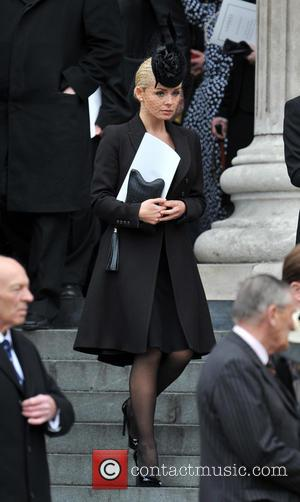 Catherine Jenkins - Guests Leave St Paul's Cathedral in central London, after the funeral of Margaret Thatcher.  Born Margaret...