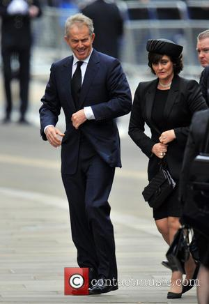 Tony Blair and Wife Cherie Booth