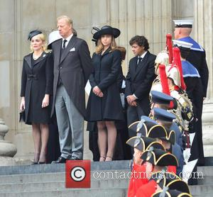 Carol Thatcher, Mark Thatcher and Amanda Thatcher