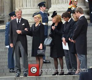 Carol Thatcher and Mark Thatcher