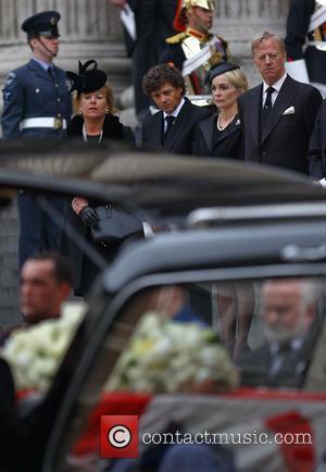 Carol Thatcher, Marco Grass, Sarah Jane Russell and Mark Thatcher