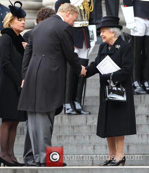 Hm Queen Elizabeth, Mark Thatcher, Carol Thatcher and Queen Elizabeth Ii
