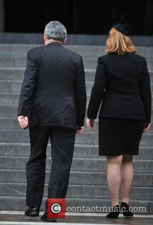 Gordon Brown and Sarah Brown
