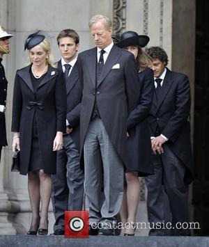 Jane Russell, Mark Thatcher, Michael Thatcher, Amanda Thatcher and Margaret Thatcher