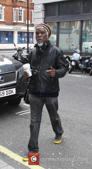Billy Ocean - Billy Ocean arriving at Radio 2 showing when the going gets tough, the tough gets a Starbucks....