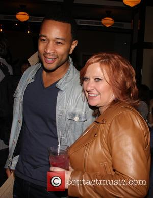 John Legend and Caroline Manzo
