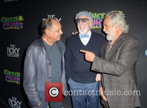 Cheech Marin, Lou Adler and Tommy Chong