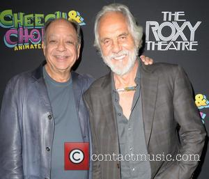 CHEECH MARIN and TOMMY CHONG - Cheech and Chong Animated Movie Premiere held at The Roxy Theatre - Hollywood, California,...