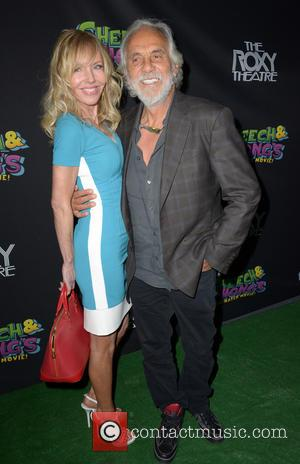 TOMMY CHONG and SHELBY CHONG - Cheech and Chong Animated Movie Premiere held at The Roxy Theatre - Hollywood, California,...