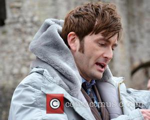 David Tennant - Doctor Who cast filming on location for the 50th anniversary of the BBC series, 'An Adventure in...