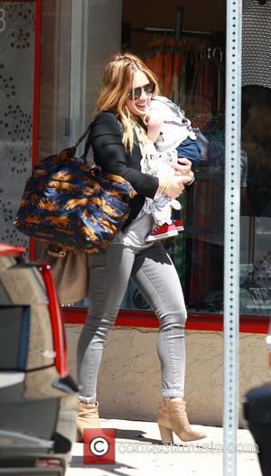 Hilary Duff and Son - Luca Cruz Comrie