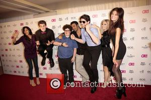 Two Guests, Jesse Heiman, Gilles Marini and three guests - Celebrities attend OK! Magazine's SO SEXY event at Skybar at...