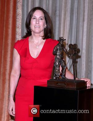 Kathleen Kennedy - Sally Field Presents the 2013 'Pioneer of The Year' Award to Kathleen Kennedy at CinemaCon Las Vegas...