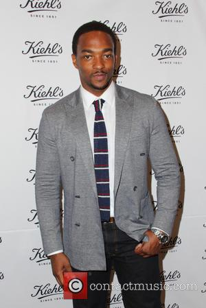 Anthony Mackie - Kiehl's Launches Environmental Partnership benefiting Recycle Across America - Santa Monica, California, United States - Wednesday 17th...