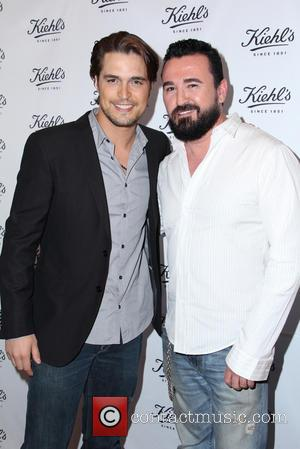 Diogo Morgado and Chris Salgardo