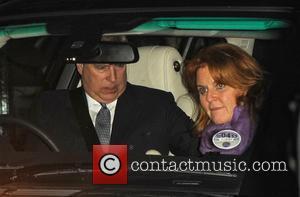 Sarah Ferguson, Duchess of York and Prince Andrew - Sarah Ferguson, Duchess of York and Prince Andrew leaving Scotts restaurant...