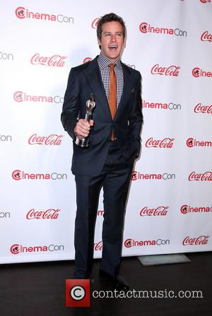 Armie Hammer - 2013 CinemaCon Big Screen Achievement Awards at Caesars Palace Resort and Casino - Las Vegas, NV, United...