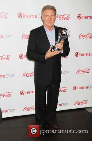 Harrison Ford - 2013 CinemaCon Big Screen Achievement Awards at...