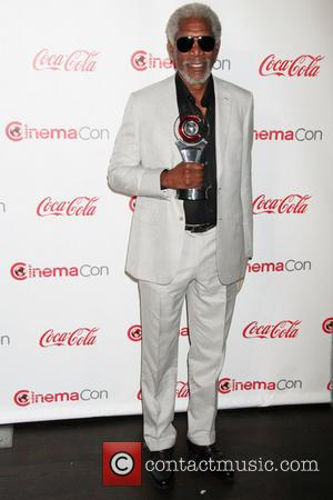 Morgan Freeman - 2013 CinemaCon Big Screen Achievement Awards at Caesars Palace Resort and Casino - Las Vegas, Nevada, United...