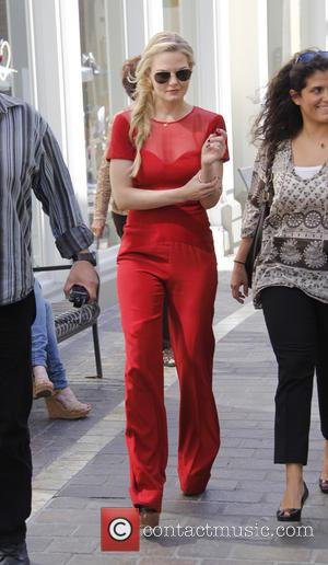 Jennifer Morrison - Jennifer Morrison is seen at the Grove for an interview with Rachel Bargh for television show 'Extra'...