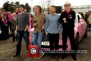 Professor Brian Cox, James May, Gary Barlow and Chris Evans