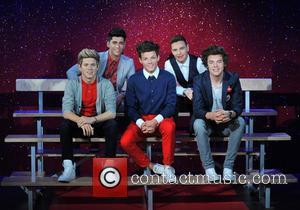 Harry Styles, Zayn Malik, Niall Horan, Louis Tomlinson, Liam Payne and Waxwork