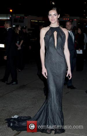 Hilary Rhoda - Tiffany's Blue Book Ball-Outside Arrivals - New York, NY, United States - Thursday 18th April 2013