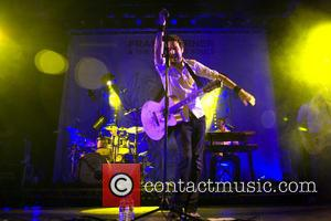 Frank Turner - Frank Turner and the Sleeping Souls, who played at the Opening Ceremony of the London Olympics, playing...