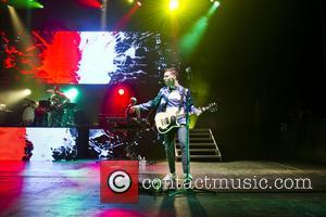 Jack Antonoff - FUN. performing live at the Apollo Hammersmith - London, United Kingdom - Thursday 18th April 2013