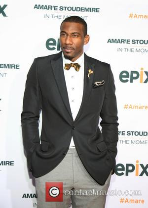 Amare Stoudemire - Premiere of EPIX Original Documentary 'Amar'e Stoudemire: In The Moment' held at Marquee - New York City,...