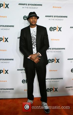 Carmelo Anthony - Premiere of EPIX Original Documentary 'Amar'e Stoudemire: In The Moment' held at Marquee - New York City,...