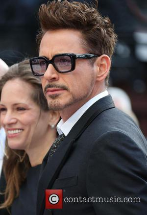 Robert Downey Jr - Iron Man 3 UK premiere held at the Odeon Leicester Square - Arrivals - London, United...