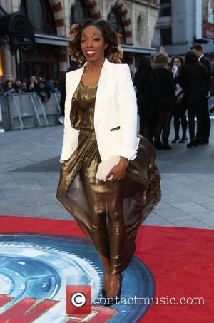 Estelle - Iron Man 3 UK premiere held at the Odeon Leicester Square - Arrivals - London, United Kingdom -...