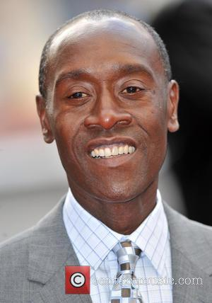Don Cheadle - Iron Man 3 UK premiere held at the Odeon Leicester Square - Arrivals - London, United Kingdom...