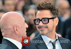 Sir Ben Kingsley and Robert Downey Jr.