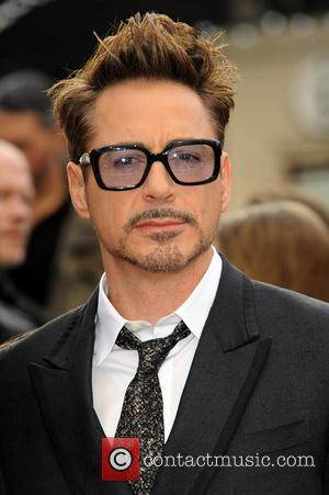 Robert Downey Jnr - Iron Man 3 UK premiere held at the Odeon Leicester Square - Arrivals - London, United...