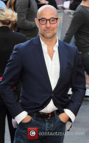 Stanley Tucci - Iron Man 3 UK premiere held at the Odeon Leicester Square - Arrivals - London, United Kingdom...