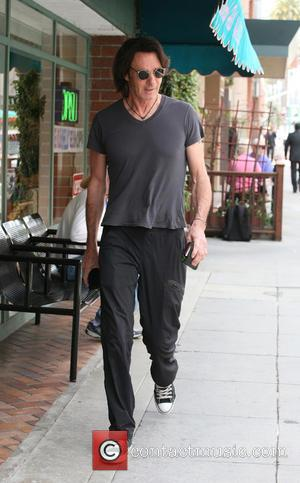 Rick Springfield - Rick Springfield out and about in Beverly Hills - Los Angeles, California, United States - Thursday 18th...