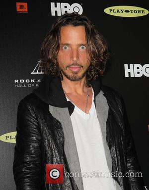 Chris Cornell - 28th Annual Rock and Roll Hall Of Fame Induction Ceremony - Press Room - Los Angeles, California,...