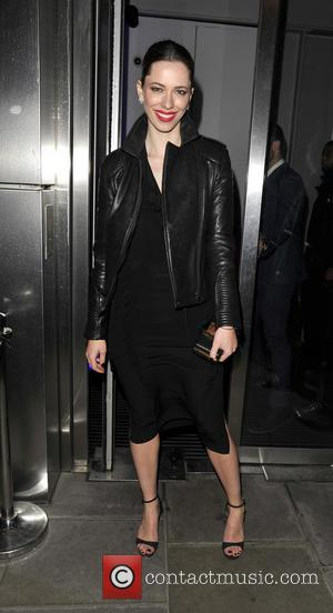 Rebecca Hall - Iron Man 3 celebrities arriving at Sushi Samba for a private dinner - London, United Kingdom -...